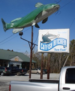 Catfish Kitchen near Montgomery Bell State Park
