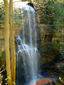Virgin Falls - Side View