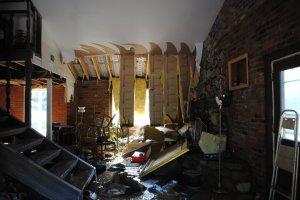 Home destroyed in Nashville