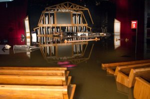 Opry House Flooded