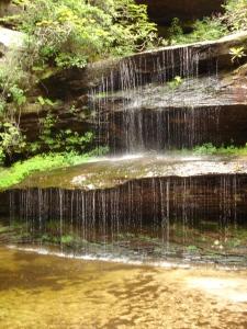 Crystal Falls on the Hidden Loop Trail